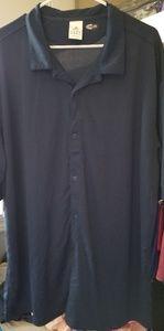 Mens Adidas Climalite short sleeve golf shirt 2XL